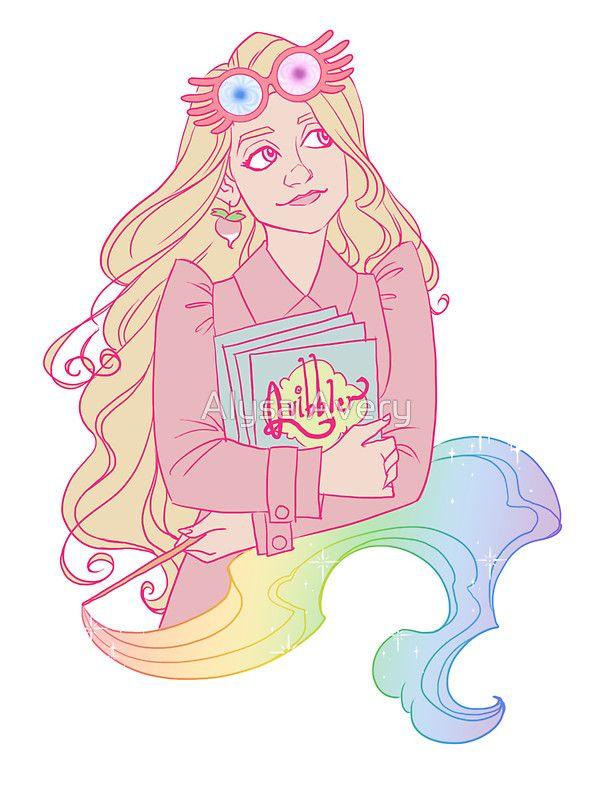 Loony Lovegood, por Alysa Avery. La creatividad de este personaje es tan refrescante. <3