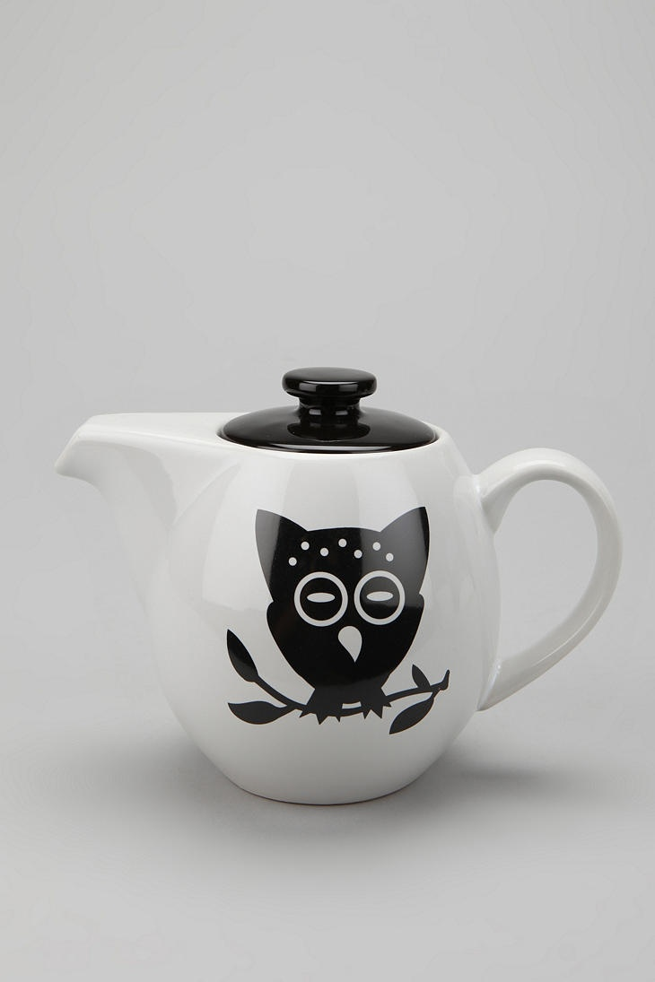 Night Owl Teapot
