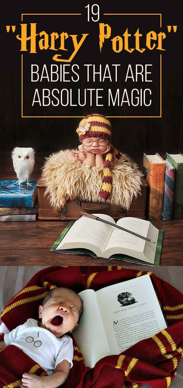 "19 ""Harry Potter"" Babies That Are Absolute Magic - this is happening when I have children"