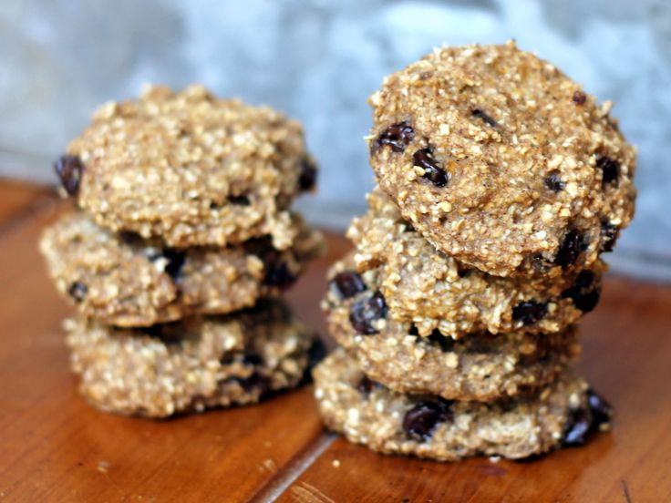 These banana bread breakfast cookies have only two ingredients. Make a batch in the beginning of the week, and they're the perfect on-the-go breakfast!