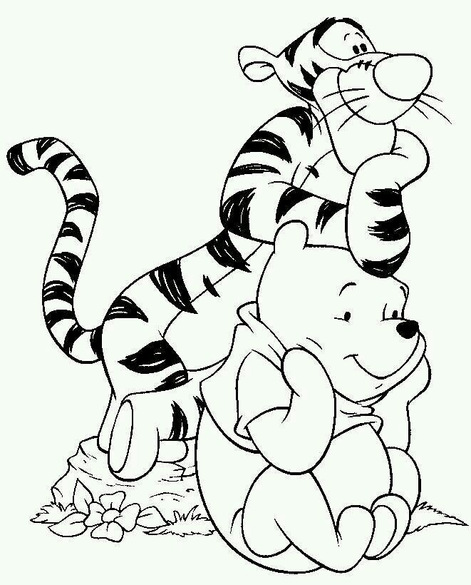 winnie the pooh coloring pages coloring pages for kids disney coloring pages printable coloring pages color pages kids coloring pages coloring - Winnie The Pooh Coloring Pages