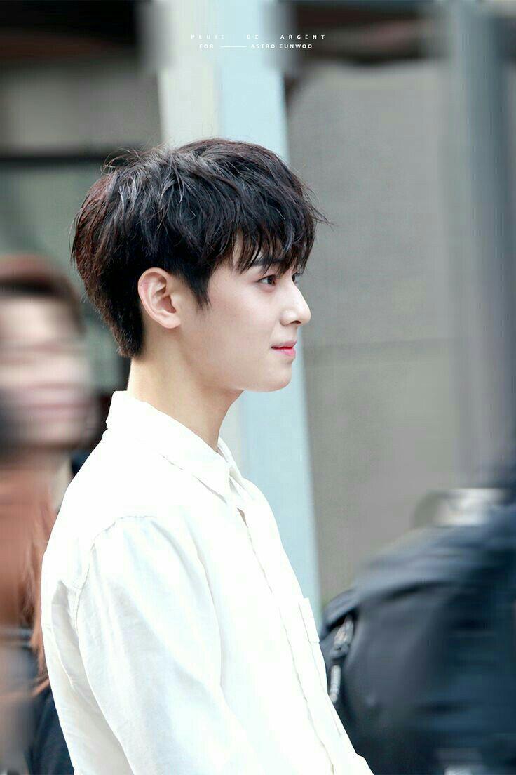 Whisper Cha Eun Woo Rambut Pria Potongan Rambut Pria