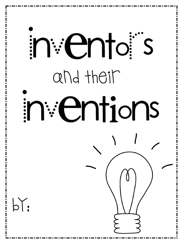 25 best inventor unit images on pinterest classroom ideas inventors fandeluxe Choice Image