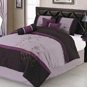 LaCozee Luxury 7 Piece Comforter Set