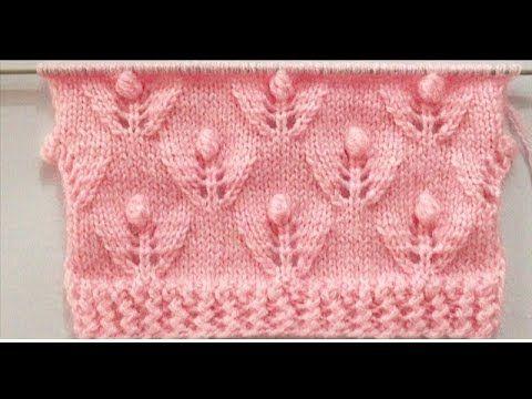 Neue schöne Strickmuster für Baby und Damen Pullover