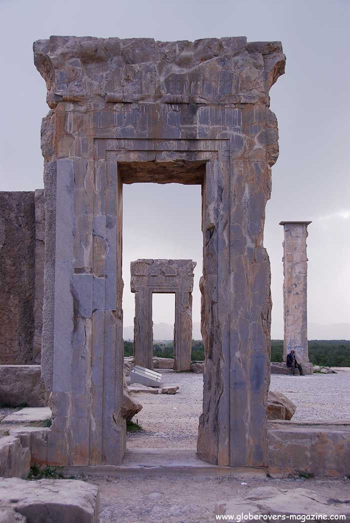 Palace of Xerxes . Persepolis, Iran