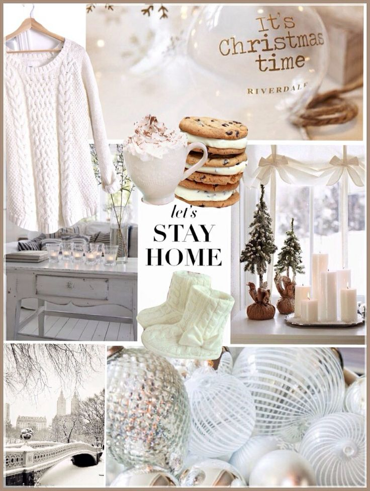 Interior design moodboard! styling,cozy winter Christmas