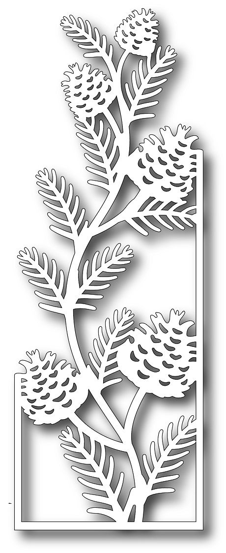 **PRE-ORDER** Tutti Designs - Cutting Die - Pinecone Branch,$10.49