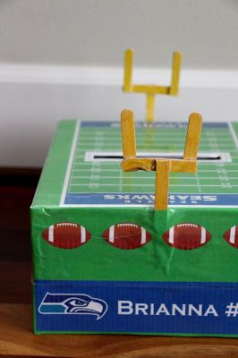 The Contemplative Creative: Seahawks Valentine Box
