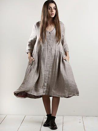 evassunday | monty dress in natural $169