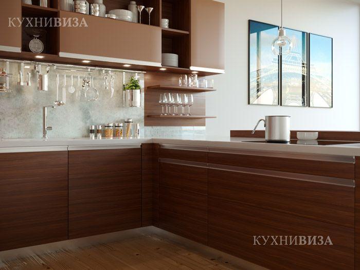 Кухонный интерьер современный.