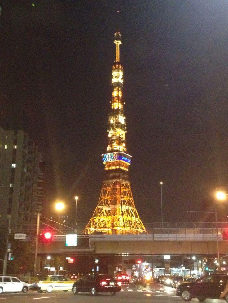 東京タワー 国道1号