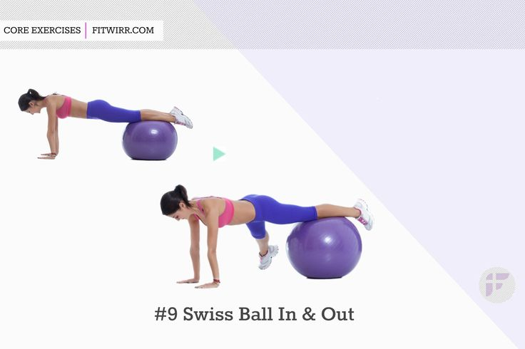 Swiss ball in and off the ball