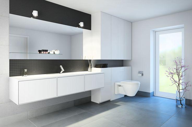 Svane / S12 kan bruges hele boligen rundt - også til bad. Vælger du S12, vælger du også en løsning med mange muligheder - og du bestemmer selv om dit nye bad skal være hvidt, farvet eller finéret.