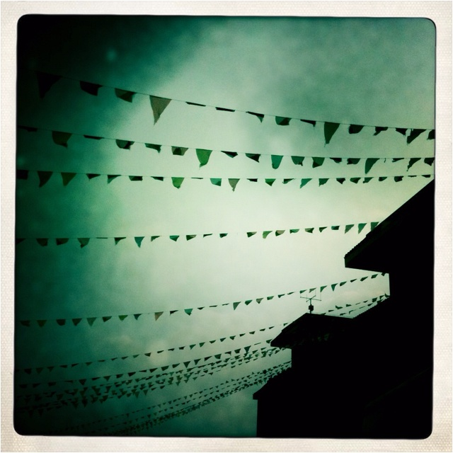 Flags over Shangrila...