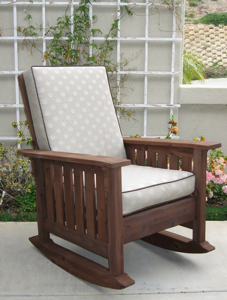Washoe Rocking Chair...an Outdoor Rocker In The Craftsman Style.