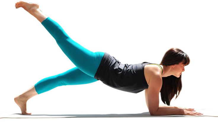 Two Fit Moms in 3-Point Forearm Plank