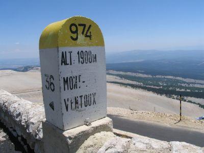 Mont Ventoux, Provence--drove up this gorgeous mountain ----June 2015.......