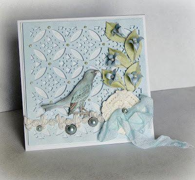 Bea - kreatywny kącik: Błękitne dzwoneczki - z mini kursikiem