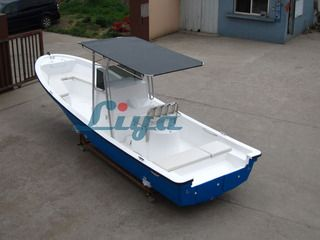 Liya new model fiberglass fishing boat party boat for sale