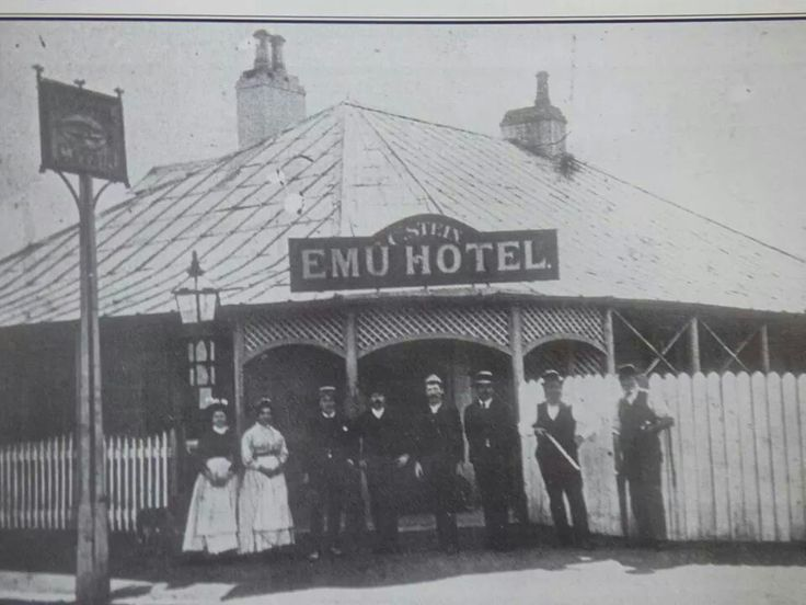 The Emu Hotel on George St,Parramatta.