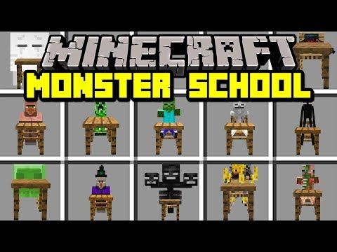 Minecraft MONSTER SCHOOL MOD! | MEET MONSTER SCHOOL