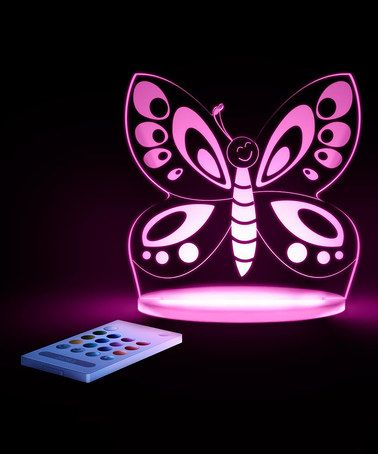 Love this Butterfly Color-Changing LED Night-Light on #zulily! #zulilyfinds