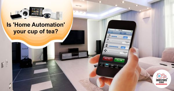 #HomeAutomation is a perfect mix of #Luxury and #Technology. Would you give it a try? http://www.investors-clinic.com/blog/is-home-automation-your-cup-of-tea/