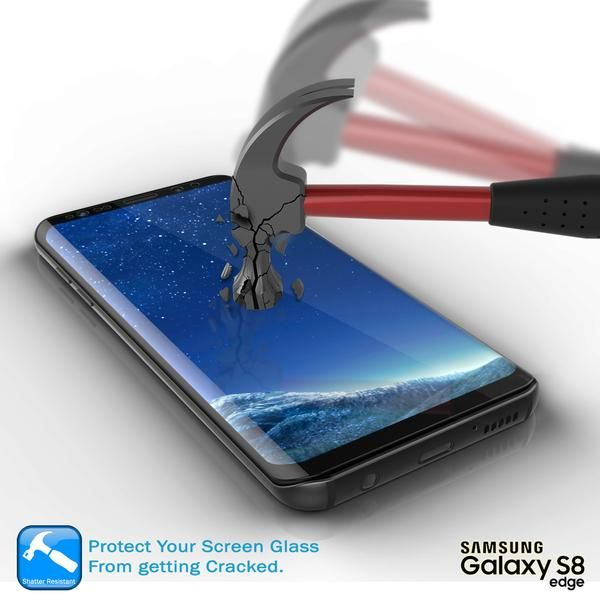 Galaxy S8+ Plus Black Screen Protector, Punkcase Glass SHIELD Samsung Galaxy S8+ Plus Tempered Glass Screen Protector 0.33mm Thick 9H Glass Screen Protector  Punkcase Glass SHIELD is build with the highest quality tempered glass to obtain the best HD clear visibility. Punkcase Glass SHIELD covers the whole screen unlike other screen protectors from competitors. It also has 2.5D rounded edges, 0.33mm thick and has 9H hardness for superior protection. Punkcase designed the Glass SHIELD with an…