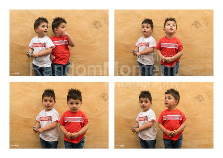 Double cute kids photography