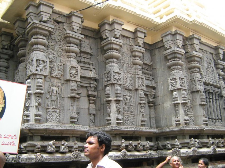 Another view of the Simhachalam Temple,Vizag