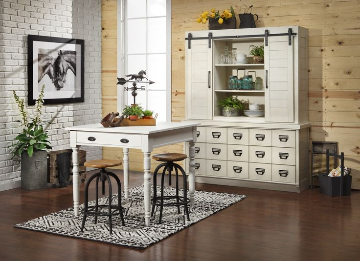 Bring Fresh Countryside Charm To Your Home With The Magnolia Farmhouse  Counter Height Table. Versatile