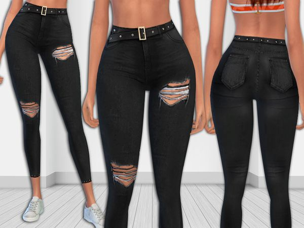 sims 4 download ripped jeans