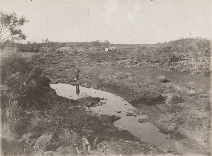 5458B/3: Springs, Warburton Range. Prospecting expedition from Laverton to Mt Charles by W. Carr-Boyd, G.A. Drinkwater and F.M. Bankier, 4 June-20 November 1904 (Click to Start Zoom)