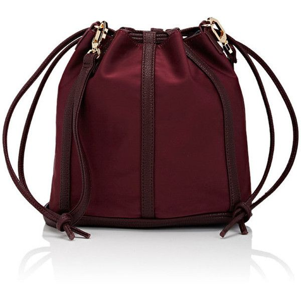 Deux Lux Women's Bucket Bag ($49) ❤ liked on Polyvore featuring bags, handbags, shoulder bags, accessories, burgundy, shoulder strap bags, red hand bags, burgundy purse, shoulder strap handbags and drawstring bucket bag