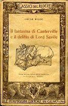 Il fantasma di canterville e il delitto di lord saville. prima versione italiana di giuseppe vannicola con disegni di g. mazzoni. | 205