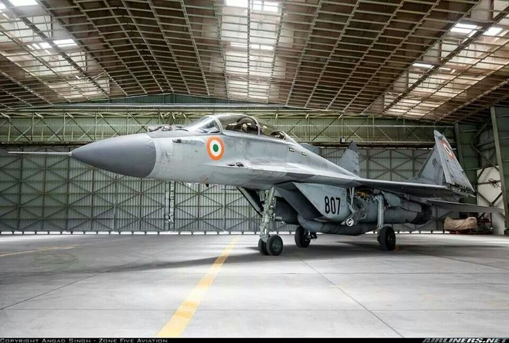 Mig -29 Fulcrum Indian Air Force