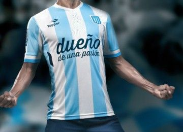 Racing Club 2014 Topper Home and Away Jerseys