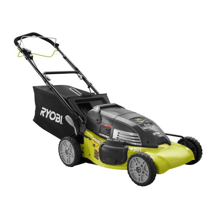 Ryobi Reconditioned 20 in. Single Speed Self-Propelled Cordless Electric Mower