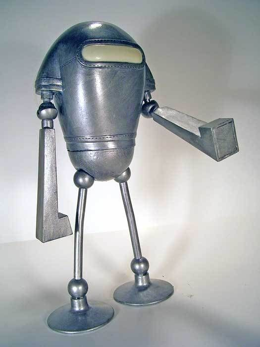 les 353 meilleures images du tableau sculptures robots sur pinterest articles m nagers. Black Bedroom Furniture Sets. Home Design Ideas