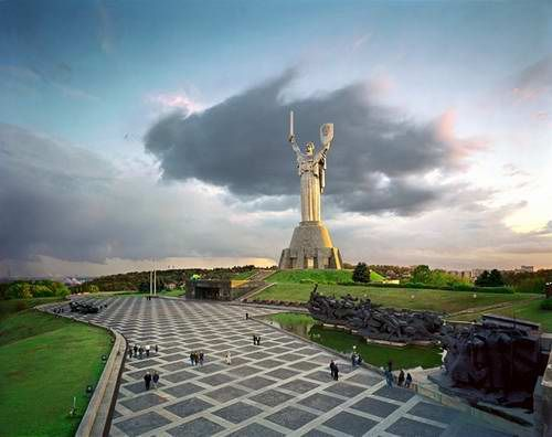 Mother Motherland - Kiev, Ukraine