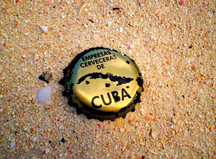 Cerveza Cap, Cuba, Guardalavaca by Morgan Guptill
