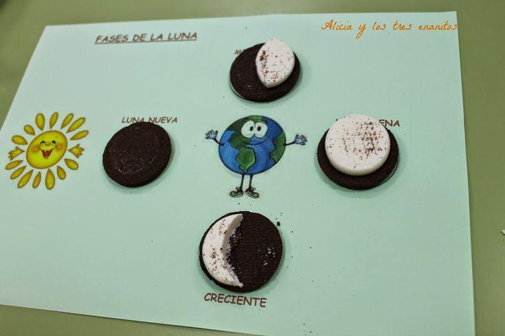 actividades fases de la luna infantil - Buscar con Google