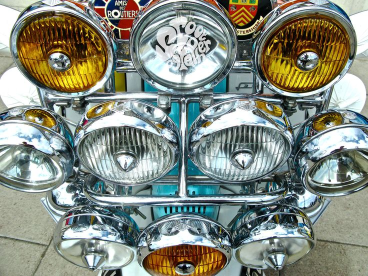 mod scooter lights - Google Search