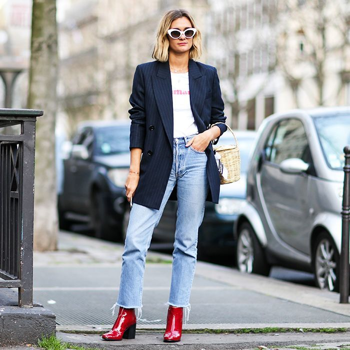 French Fashion Girls Really Love This Trend Right Now via @WhoWhatWearAU