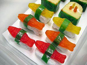candy sushi- google image