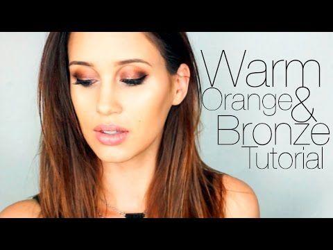 Warm Toned Makeup Tutorial - Kylie Jenner Inspired | Eye ...