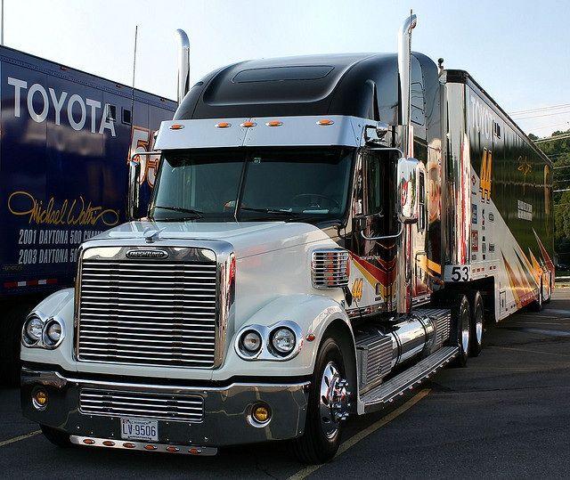 Freightliner Coronado Toyota Racing Nascar Transporter Hauler