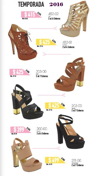 zapatos altos de moda. Edicion de rebajas Cklass Mexico