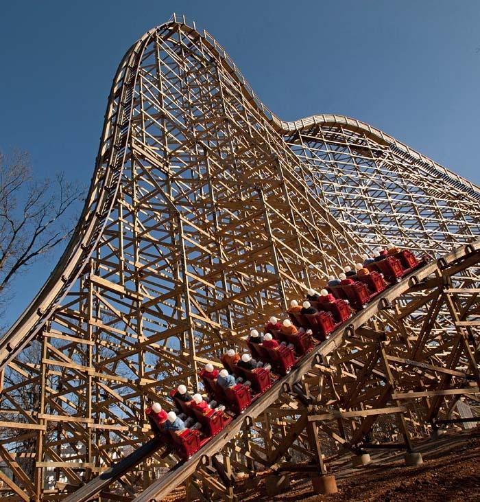 Outlaw Run  Silver Dollar City  USA #rollercoaster #themepark